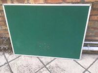 FREE** Large Green Office Notice Board 120cm x 90 **FREE