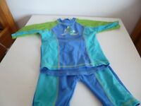 BHS swim and sun suit 18-24 months