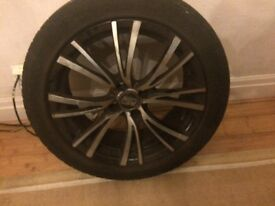 Alloy Wheels O.Z / 17 Inch