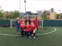 Ladies Football / 5 aside - In Leeds City Centre - Casual and League matches-Women , girls wanted