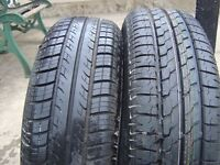 2 x 175-65R-14 TRYES.1 x BRIDGSTONE 1 x CONTINENTAL NOT BEEN USED 7.0MM TREAD