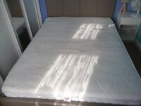 Double Ottoman bed and Mattress
