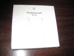 Apple Thunderbolt / Mini Display Cable. Connect Two Macbook / Surface. Macbook Air / iMac. Original Apple. NEW