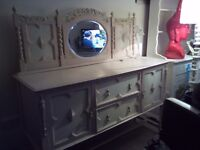 Gorgeous shabby chic side board