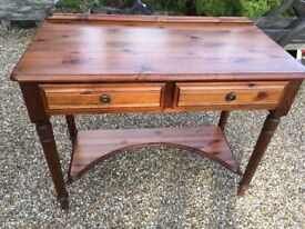 Ducal Solid Pine Desk with 2 Draws
