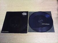 "METALLICA PAIR OF 7"" PICTURE DISCS"