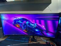 """34"""" Alienware Curved Monitor • G-Sync • 3440 x 1440 • 100Hz native (OC to 120Hz) • IPS • 21:9 Aspect"""