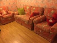 FREE 2 seats sofa and two armchairs suite