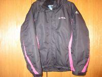 Girls Age 11-12/ 152cm Dare2b Black Ski Jacket