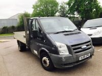 56 plate ford transit tipper tax and mot 6 speed