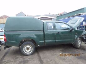 Toyota Hilux Actave D-4D 4X4 2.5 2015 breaking for spares Wheel Nut.