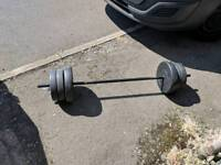 35 kg barbell weight set