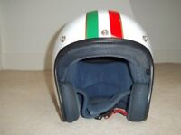 Modena Cafe Open Face Crash Helmet - Size Small **STILL AVAILABLE**