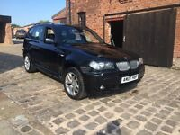 2007 BMW X3 SI M SPORT BLACK mauanl 1 owner