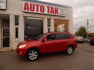 2009 Toyota RAV4 LIMITED PACKAGE , LEATHER SUNROOF ALLOY WHEEL