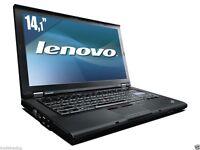 IBM Lenovo T Series CHEAP Laptop Win 7 4GB i3 2.4GHz 160GB 1 YEAR WARRANTY