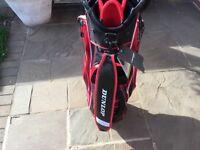 Dunlop dura storm golf cart bag brand new