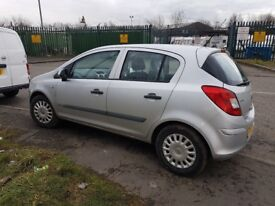 VAUXHALL CORSA D 1.2 PETROL Z12XEP 5 DOOR IN SILVER 05-10 FOR BREAKING ONLY