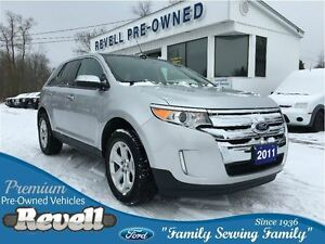 2011 Ford Edge SEL AWD * 1-Owner Trade  Moonroof  Heated Leather