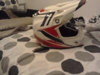 Bell mx helmet