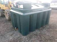 2500 litre bunded oil tank or diesel bio storage local delivery can be arranged £475