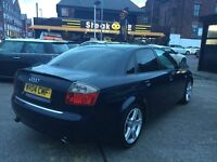 2004 AUDI A4 TDI SE WITH ALLOYS+TWIN EXHAUST