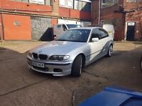 2002 52 BMW 325 M Sport MOT'd Starts and Drives Spares or Repair