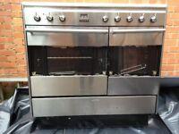 Smeg range cooker broken glass spares repair 90 steel double