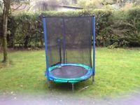 Garden trampoline freebie