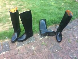 Long Riding Boots Hardly Worn - Size 7