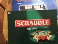 Rummikub and Scrabble set