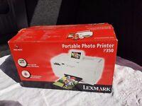 Lexmark Portable Home Photo printer