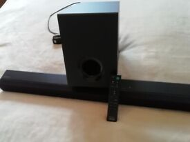 Sony Bluetooth Soundbar with Subwoofer, USB and Remote