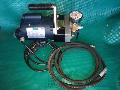 New Wheeler Rex Hydro Static Test Pump Model 39300 Pressure 300 Psi 4 Gpm
