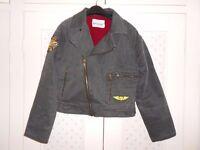 Miss Posh denim ladies jacket army