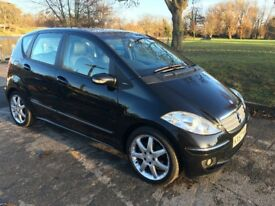 "Mercedes A180 2.0L CDI Avantgarde SE 5dr Tip Auto Sport package. FSH, MOT. Full leather, 17"" Alloys"