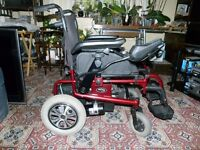 Electric wheelchair for sale in very good condition & in good working order