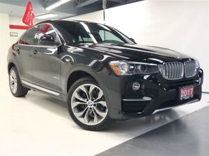 2017 BMW X4 xDrive28i|ACC FREE|NAVI|BACK CAM|BTOOTH|ROOF|LTHER