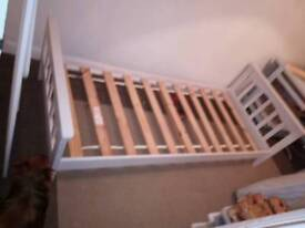 Single Shaker Bed - Wood - White -Mothercare