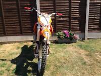 Warrior 250cc dirtbike