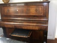 Upright old piano