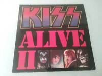 KISS ALIVE 11 CASABLANCA STEREO 6685 043 VINYL 2 LPs