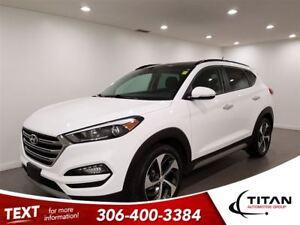 2017 Hyundai Tucson SE Turbo AWD|Cam|Bluetooth|Leather|Pano Sunr
