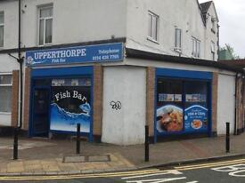 Fish and chips shop for sale Upperthorpe Road S6