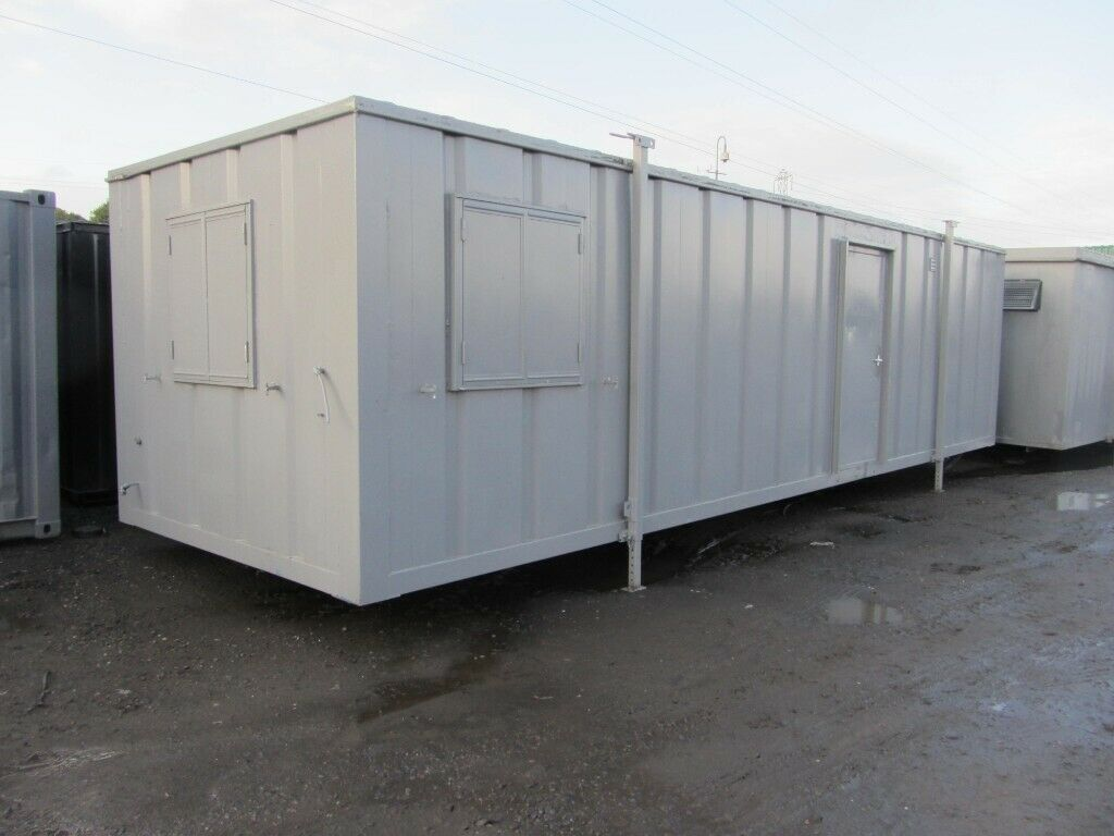 New Container 32ft X 10ft Open Plan Office With Tinted Windows 2400 In Bathgate West Lothian Gumtree