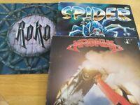 KROKUS - ROKO -SPYDER - 3 X VINYL ALBUMS FOR £10 FOR ALL 3
