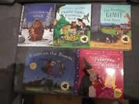 set of 5 Julia Donaldson books