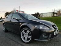 """2008 Seat Lean 2.0 Tdi FR 170bhp! Up-graded 18"""" Seat Alloys! Bluetooth! Only 75000 Miles! Great Car"""