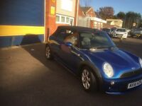 2006 Mini Cooper convertible 1.6 80k 12 months mot/3 months parts and labour warranty
