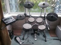Roland TD8 Electronic Drum Kit plus upgrades